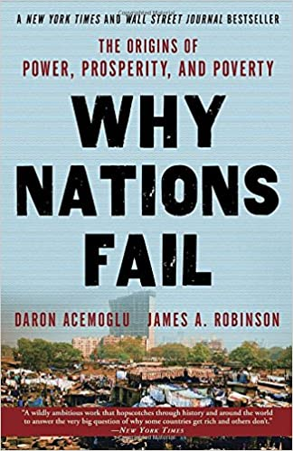 Daron Acemoglu, James Robinson - Why Nations Fail Audiobook Free